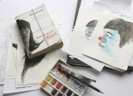 Norwegian Wood - preparatory work, and the book by Haruki Murakami