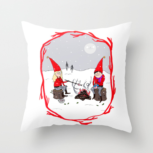 snow cushion
