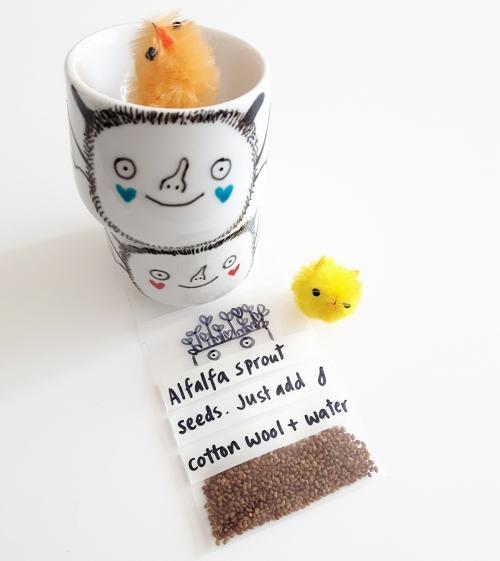 Custom Easter bat egg cups