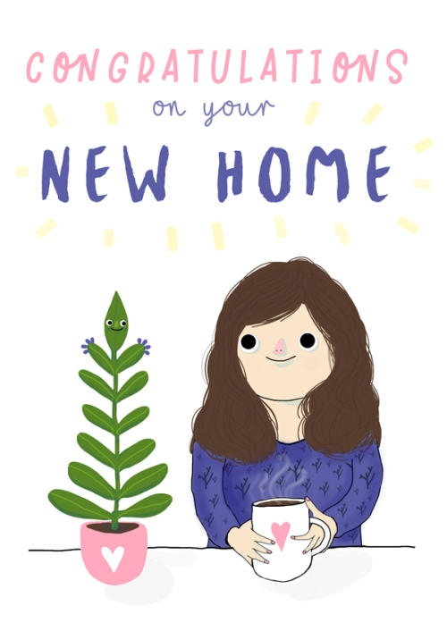 Congratulations on your new home card small