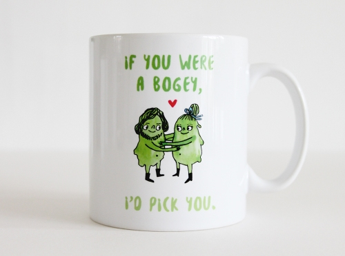 If you were a bogey, I'd pick you